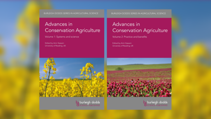 Conservation Agriculture Book Covers
