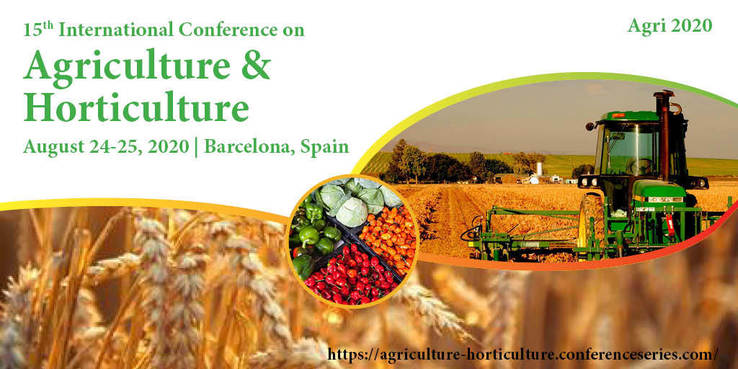 15th International Conference on Agriculture & Horticulture 2020