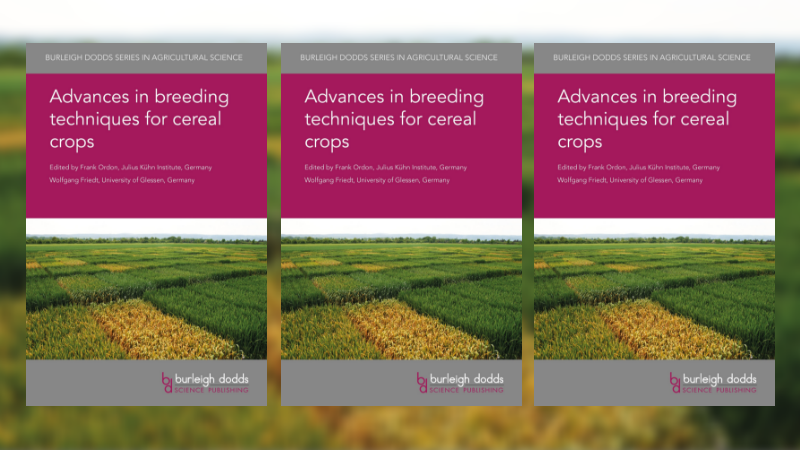 Advances in breeding techniques for cereal crops
